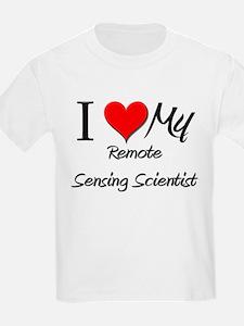 I Heart My Remote Sensing Scientist T-Shirt