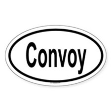 CONVOY Oval Stickers