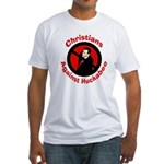 Christians Against Huckabee Fitted T-shirt