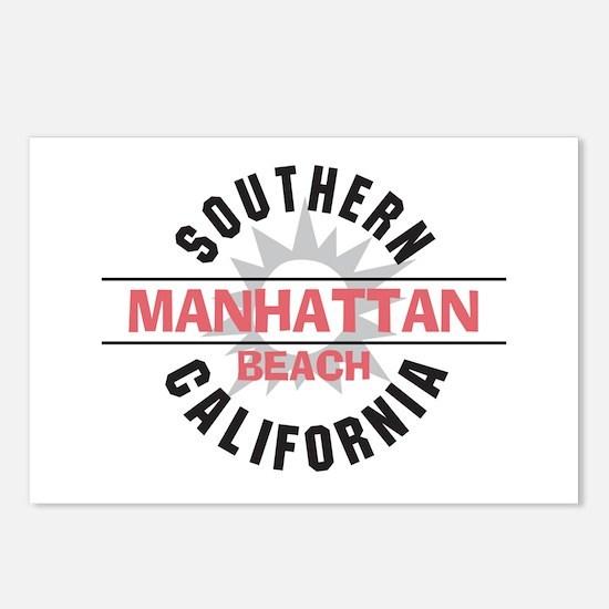 Manhattan Beach CA Postcards (Package of 8)