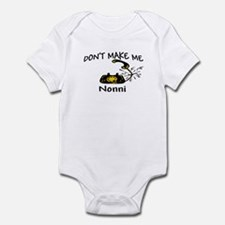 Call Nonni with Black Phone Infant Bodysuit