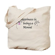 Happiness Is Nonni Tote Bag