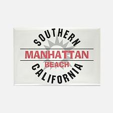 Manhattan Beach CA Rectangle Magnet (10 pack)