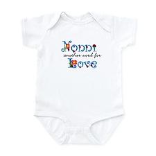 Nonni  Love  Infant Bodysuit