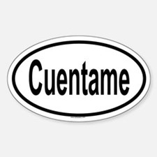 CUENTAME Oval Decal