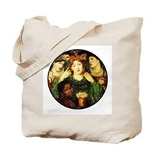 Unique Romantic women Tote Bag