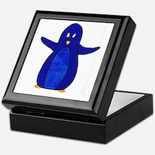 The Blue Penguin Keepsake Box