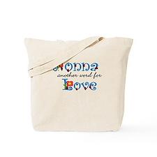 Nonna Love Tote Bag