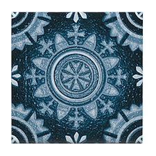 Abstract 3 (Blue) Tile Coaster