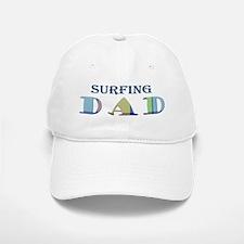Surfing Dad Baseball Baseball Cap