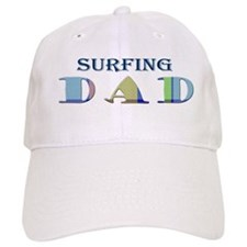 Surfing Dad Baseball Cap