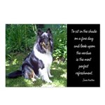 Sheltie in the Shade Postcards (Package of 8)