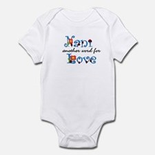 Nani  Love  Infant Bodysuit