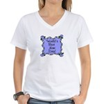 Best Nani Ever Women's V-Neck T-Shirt