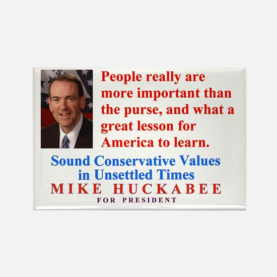 Huckabee for President, People are Important Recta