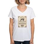Tombstone Boot Hill Women's V-Neck T-Shirt