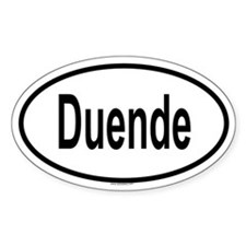 DUENDE Oval Decal