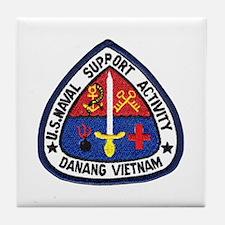 NSA Danang Vietnam Tile Coaster