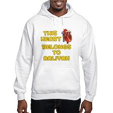 This Heart: Aaliyah (A) Hoodie Sweatshirt