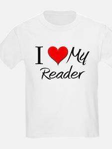 I Heart My Reader T-Shirt