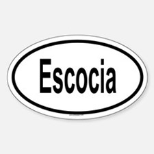 ESCOCIA Oval Decal
