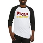 Pizza is the best Baseball Jersey