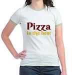 Pizza is the best Jr. Ringer T-Shirt