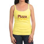 Pizza is the best Jr. Spaghetti Tank