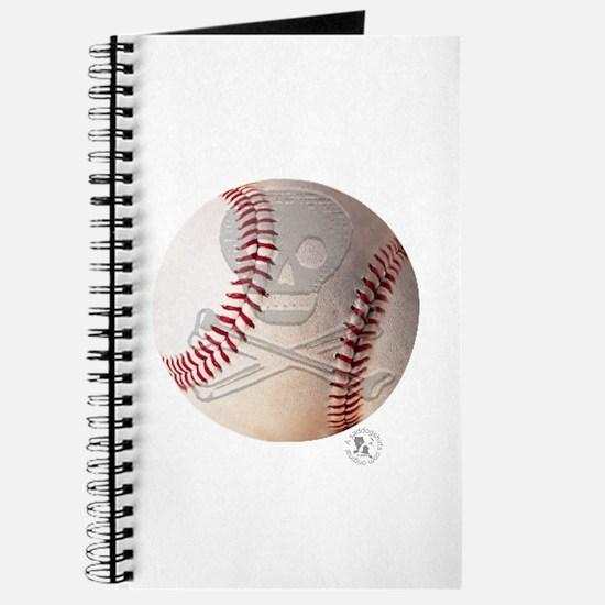 Skull & Crossbones Baseball Journal