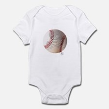 Skull & Crossbones Baseball Infant Bodysuit