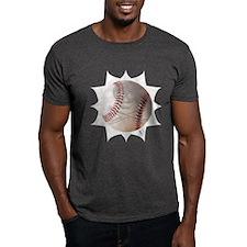 Skull & Crossbones Baseball Dark T-Shirt