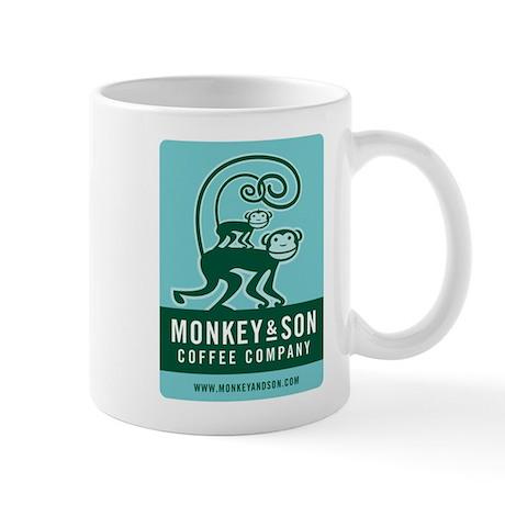 Monkey and Son Coffee Mug