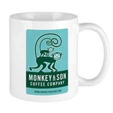 Monkey and Son Coffee Mug