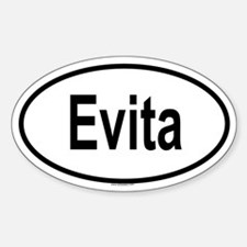 EVITA Oval Decal