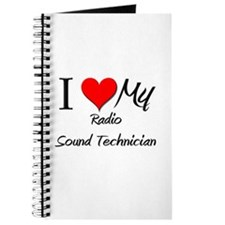 I Heart My Radio Sound Technician Journal