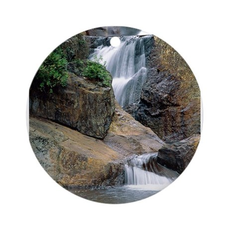Peaceful Waters Colorado Ornament (Round)