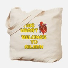 This Heart: Aileen (A) Tote Bag