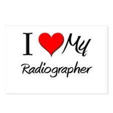 I Heart My Radiographer Postcards (Package of 8)
