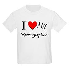 I Heart My Radiographer T-Shirt