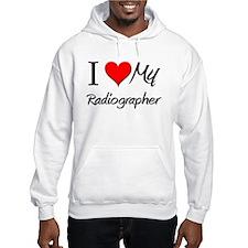 I Heart My Radiographer Hoodie