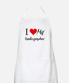 I Heart My Radiographer BBQ Apron