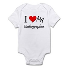 I Heart My Radiographer Infant Bodysuit