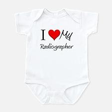 I Heart My Radiographer Infant Bodysuit