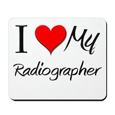 I Heart My Radiographer Mousepad