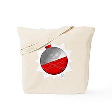 Skull & Crossbones Fishing Tote Bag