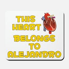 This Heart: Alejandro (A) Mousepad