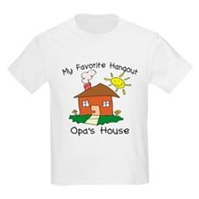 Favorite Hangout Opa's House T-Shirt