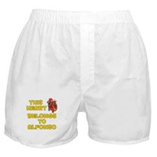 This Heart: Alfonso (A) Boxer Shorts