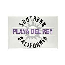 Playa del Rey California Rectangle Magnet
