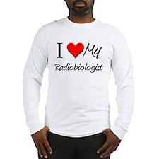 I Heart My Radiobiologist Long Sleeve T-Shirt